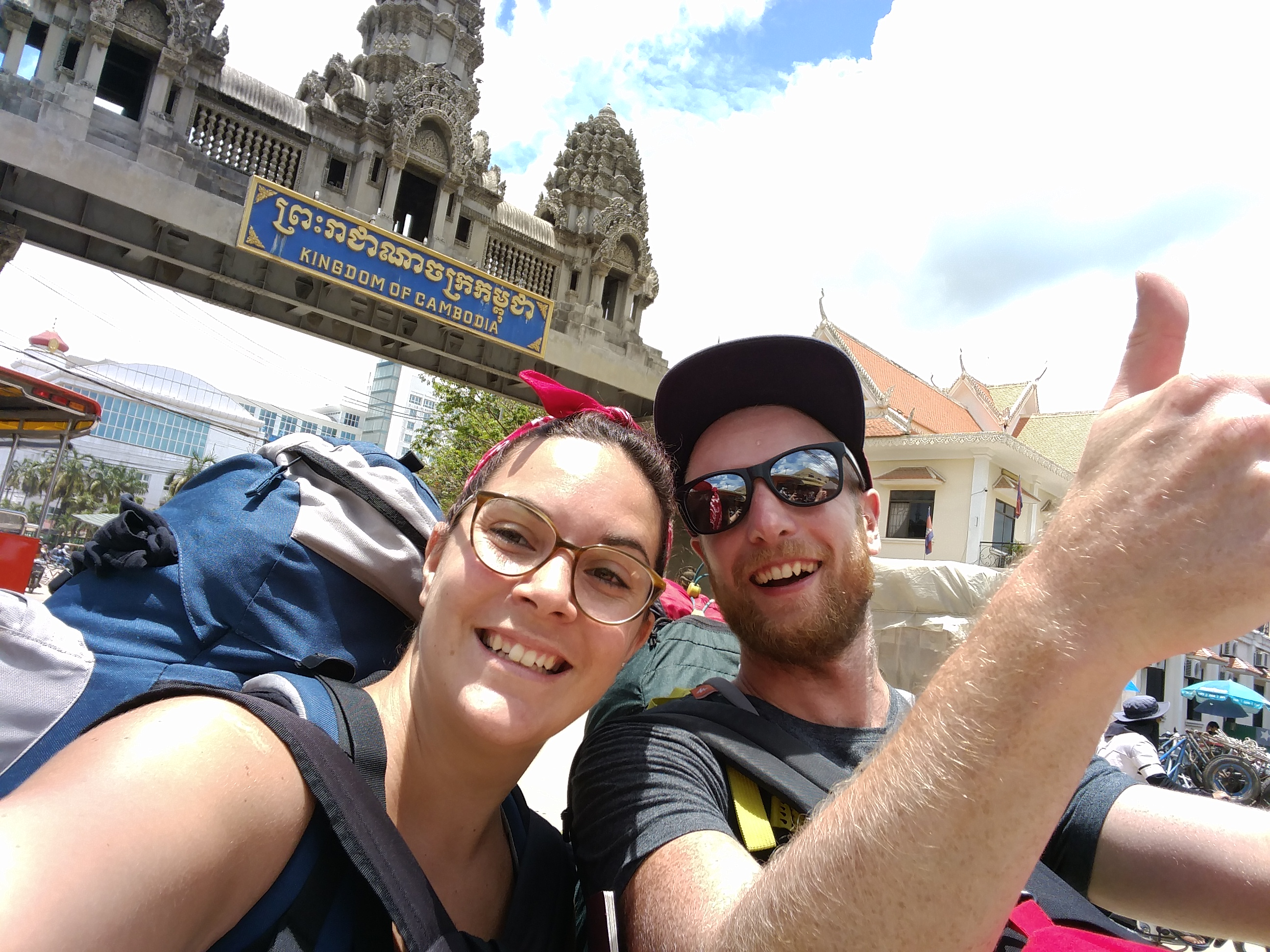 How to cross Thai-Cambodian border by foot