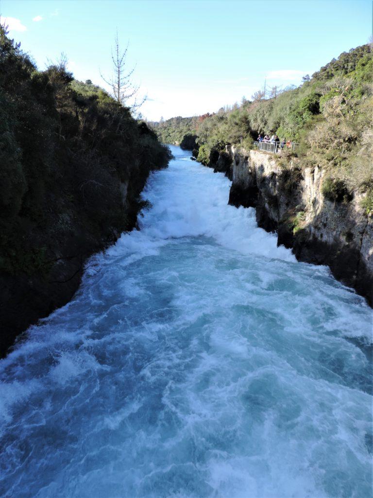 new zealand Huka falls